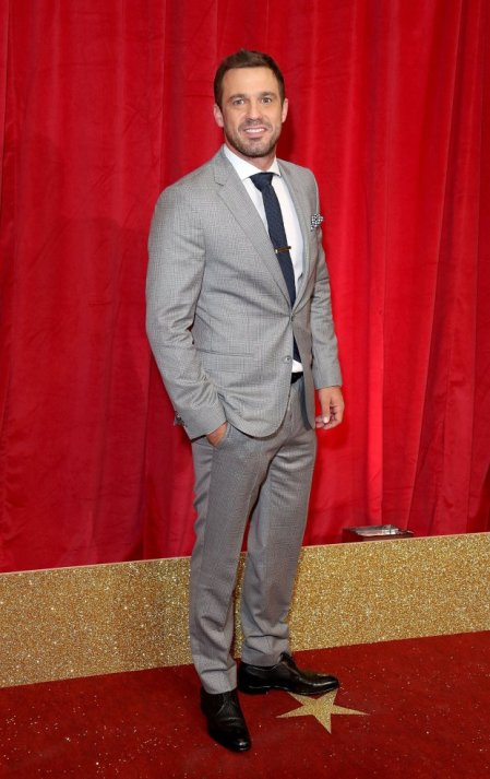 All the snazzy dudes from the BSAsLONDON, ENGLAND - MAY 28: Jamie Lomas attends the British Soap Awards 2016 at Hackney Empire on May 28, 2016 in London, England. (Photo by Mike Marsland/Mike Marsland/WireImage)