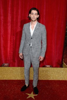 All the snazzy dudes from the BSAsLONDON, ENGLAND - MAY 28: Maxim Baldry attends the British Soap Awards 2016 at Hackney Empire on May 28, 2016 in London, England. (Photo by Jeff Spicer/Getty Images)